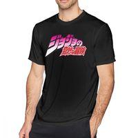 Jojo Bizarre Adventure T Book Jojo S T- Men Tee 100% хлопок Пляж Печать с коротким рукавом веселая футболка 210420