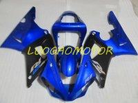 Injection Bodywork Fairings kit for YAMAHA YZF1000R1 YZF R1 2000 2001 fairing kits Cowling YZF-R1 00 01 Hogh Quality ABS Motorcycle Custom Gift Black Blue