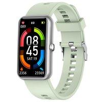 Smart Watch pour Hommes Femmes IP68 Imperméable Cadre personnalisée Tarif cardiaque Message Push Féminin Physiologique Moniteur Fitness Bracelet Sport Horloge Horloge Android IOS SmartWatch L16