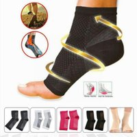 Socks & Hosiery Foot Anti Fatigue Compression Sleeve Ankle Support Sock Outdoor Brace Basketball Sport Cycle Running Men C0g9