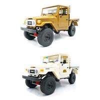 WPL C44KM Metal Edition Unassembled Kit 1 16 4WD RC Car Kit for Children Boys Model Gift Off-Road Vehicles w  Motor Servo H1013