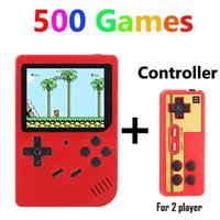 Portable Game Players Coolbaby RS-6 A Retro Mini Handheld Console 8-Bit 3.0 Inch Color LCD Kids Player Built-in 168 500 Games