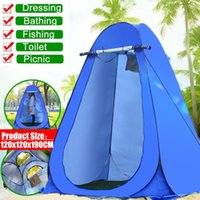 Tents And Shelters Portable Privacy Shower Toilet Camping Up Tent Camouflage Room Pography Dressing Changing Outdoor