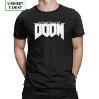 남자 티셔츠 I d 오히려 Doom 코 튼 티셔츠 짧은 소매 복고풍 게임 Conan 바바리안 툴사 뱀 컬트 티셔츠 플러스 사이즈 210420