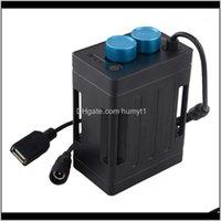 Lumières Trust Fire Sold Water Power Bank USB 5V Chargement Téléphone DC84V Boîtier de batterie Boîtier pour Vélo LED Light1 DGUTV A50CK
