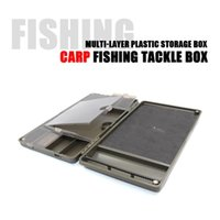 Fishing Accessories 8 Slots Carp Rig Storage Case Compartment Tackle Box Swivels Hook Bait Boxes