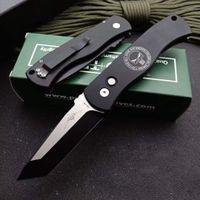 Pro-Tech CQC7 Автоматический складной нож для складывания 3,26 дюйма 154-см Высококачественная стальная ковка лезвия T6 аэронавтическая алюминиевая ручка EDC Auto Pocket Mounts