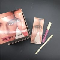 M Look In A Box 6 em 1 Kit de maquiagem Matte Lipstick Líquido Eyeliner Cool Black Mascara Air Cushion