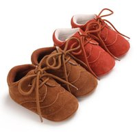 First Walkers Suede Leather Spring Autumn Baby Shoes Infant Toddler Casual Comfor Anti-slip PU Crib Moccasins