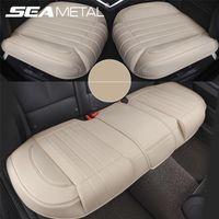 Assento de carro cobre capa de couro Seametal assento assento protetor esteira de esteira de quatro estações auto luxury assentos assentos de almofada de almofada acessórios