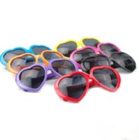 Heart glasses cheap sunglasses heart-shaped sunglasses influx of people love retro oversized mirror Hot style women DC247