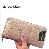 محافظ Miwind المرأة محفظة العلامات التجارية الشهيرة عملة محفظة الدولار السعر 2021 مصمم المحافظ بطاقة حامل بطاقة مخلب A116FB