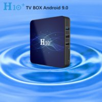 Latest H10+ Android 9.0 TV BOX Hi3798 Quad-Core 1GB 8GB 2GB 16GB Built-in 2.4G 5G WIFI Smart Media Player