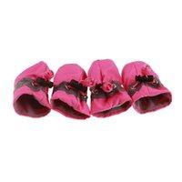 개암 반대 방수 방수 소프트 솔드 강아지 신발 애완 동물 소형 사전 워커 부드러운 제품 공급 용품