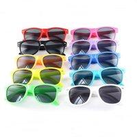 13 Renkler Çocuk Güneş Gözlüğü Çocuklar Plaj Malzemeleri UV Koruyucu Gözlük Kız Erkek Sunshades Gözlük Moda Aksesuarları 2145 Q2