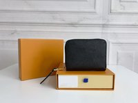 Lüks Tasarımcılar Cüzdan Çantalar Moda Kısa Zippy Cüzdan Monogramlar Empreinte Deri Kabartma Klasik Fermuar Cep Pallas Çanta Zip Sikke Çanta
