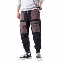 Herrenhose Favocent Harem 2021 Herbst Mode Baumwolle Beiläufige Hosen Männliche Streetwear Joggers Fracht Hose Übergroße Männer Kleidung