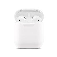 ل Apple AirPods 1 2 متكاملة المضادة إسقاط بلوتوث لاسلكية سماعة حالة الغطاء الواقي صدمات كم شحن القضية