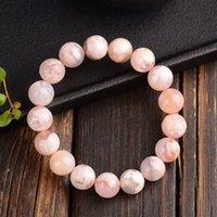 Bracelet de perles rondes orange d'agate naturelle naturelle authentique 7mm 8mm 9mm 10mm 11mm 12mm 13mm cristal femme homme AAAA