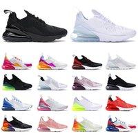 Nikeairmaxairmax270 Orijinal Klasik Koşu Ayakkabıları Erkekler Kadınlar Için Eğitimciler Tüm Beyaz Thirple Siyah Zarel Pembe Serin Gri Kahverengi En Koşucular Spor Sneakers