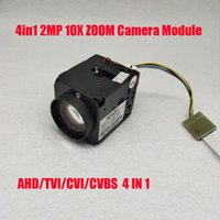 "Optical Zoom Camera Module Sony Imx323 2MP 4 In1 AHD CVI TVI CVBS Signal 1 1 3""HD Security 5~50mm Lens IP Cameras"