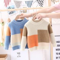Pullover 2021 Fall Winter Baby Children Clothing Boys Girls Knitted Toddler Sweater Kids Spring Wear Tops 2 3 4 6 8 Years