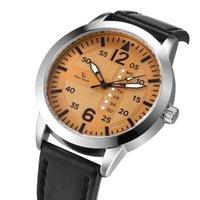 Relógios de pulso v6 Top relógios impermeáveis de quartzo homens homens moda esportes relógio homem couro militar relógio relogio masculino