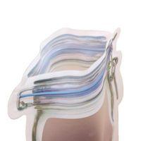 Reusable Food Storage Zipper Bags Mason Jar Shape Snacks Airtight Leak-proof bag Kitchen Organizer ZZE5745