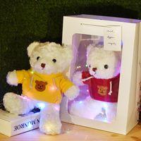 doll Gift box Teddy Bear Plush Toy children's sweater baby bear