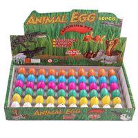 10ピース/ロットノベルティGagおもちゃの子供たち - おもちゃかわいい魔法の孵化施設子供教育玩具ギフトのための動物恐竜の卵