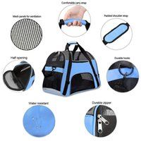Dog Carrier Soft-sided Carriers Portable For Cat Bag Outgoing Travel Breathable Pets Handbag Car Seat Covers