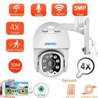 PTZ Wif камера открытый IP Speed Dome Wireless CCTV Security Pan Tilt 4x Zoom Surveillance Сирена тревоги P2P CAM камеры
