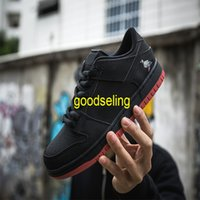 embroider Black pigeon skateboard shoes Men's and women's return to the ancients chamois leather Luxurys Designers outdoors lie fallow