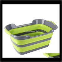 Pet Home & Garden Drop Delivery 2021 Collapsible Portable Foldable Dog Cat Bath Tub Expandable Grooming Washing Supplies Aessory For Small Me