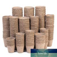10 шт. Pressage Pot Pot Setting Searling Herb Seeber Network Cup Kit Органическое биоразлагаемое экологически чистое домашнее выращивание