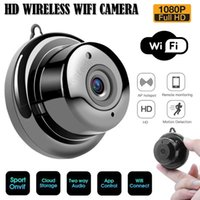 V380 ميني واي فاي كاميرا ويب 1080 وعاء hd wireless ويب IP CCTV كاميرا الذكية الأمن المنزل مراقب للرؤية الليلية داخلي في الهواء الطلق