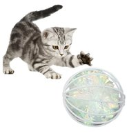 Cat Toys 1Pc Funny Candy Color Ball Toy Interactive Crinkle In Cage Play Teaser Pet Supplies For