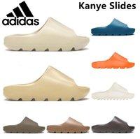 Kanye Clog Sandal West Men Black Slides Тапочка для женщин Костяная смола Пустынные Тайнерские Мужские Женские Дизайнерские Сандалии Beach Sandals Slip-On Yeezy Yeezys Обувь 36-44