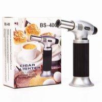 Micro Butano Butano Tocha Jet Isqueiro Creme Brulee Chefs Culinary Blowtorch para Cozinha Ferramentas Cozinhando Cozimento Selvagem de Soldagem de Solda DHL