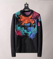 2021 Luxus Hohe Qualität Herren Pullover Brief Streetwear Große Größe Männer Frauen Schwarz Hoodie Langarm Stickerei Pullover Designer Mode Sweatershirt