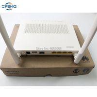 10 stücke Marke Huawei EG8141A5 GPON ONU ONT FTTH HGU WIFI-Router Modem 5DBI Deutsch Software 1GE + 3FE 1TEL USB Faseroptikausrüstung