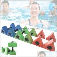 Pool Sport OutdoorsPool Aessingen 1 Paar Schwimmen Dummköpfe Triangar Aquaty Training Dumbells Leichte Wendekörbe Handgefühl WA