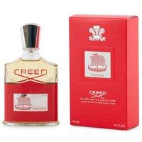 الجمال مذهلة رائحة زجاجة الرجال العطور 100ML الأحمر العقيدة فايكنغ رذاذ دائم العطر جودة عالية هدية مجانية تسليم سريع