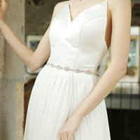 Belts Selling Bridal Belt Handmade Diamond Waist Seal Decal Chain Wedding Dress Women Fabric Adult Cn(origin)