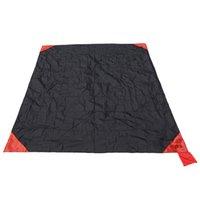 Bolso Cobertor Acampamento Ao Ar Livre Esteira Ultralight Piquenique Esteira Dobrável Praia Esteira À Prova D 'Água Viagem Camping Equipamento