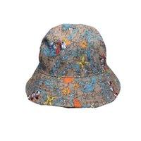 دلو قبعة الصيف الشمس أزياء الشارع امرأة دودو شقة أعلى جودة gorr مع الإطار ++