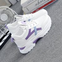 Running Shoes For Women 2020 Tenis Feminino Air Cushion Breathable Sneakers Lace-up Outdoor Gym Sport Shoes Athletic Trainers