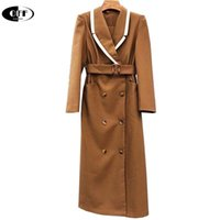 Spring Autumn Elegant Woman Thin Trench Coat Clothes Long Sleeve Sashes Office Lady Chic Female Windbreaker Womens Coats Femme Women's