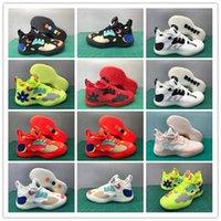 2021 Harden Vol.5 Créateur Hommes Sneakers Basketball Chaussures Haute Qualité Vol 5 Flamme Rouge 4 Poudre de fleur de cerisier Spers