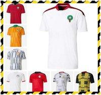 20-21 Egitto M.salah 10 Salah Costa d'Avorio Ghana Marocco Maglie da calcio 20 21 Casa Away Jersey Top Thai Football Camicie